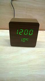 *Електронний будильник від мережі і батарейок VST-872-4 (33984)