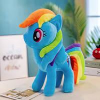 Пони единорог детская мягкая игрушка My Little Pony 20*22*10 см Rainbow Dash Радуга