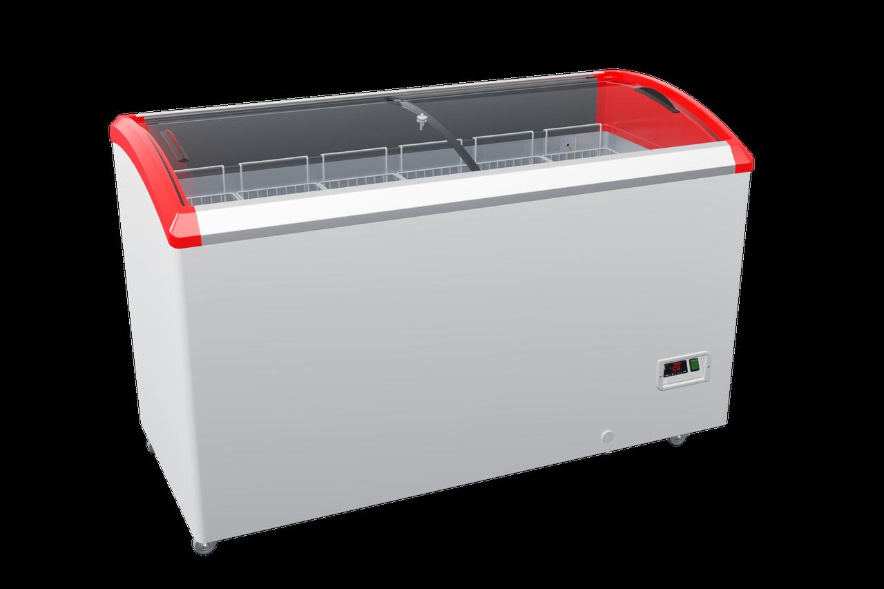 Морозильна скриня з гнутим склом JUKA (Юка) M500SF / Ларь морозильный Juka M500SF