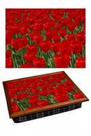 "Поднос на подушке ""Тюльпаны"", фото 1"