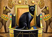 """Схема для вышивки бисером кошка, """"Египетская царица"""", фото 1"""