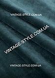 Тканина для штор Однотонний синій оксамит Т-1970, фото 2