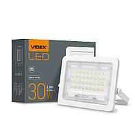 Прожектор LED 30W VIDEX F2e 5000K білого кольору, фото 1