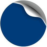 А Синий