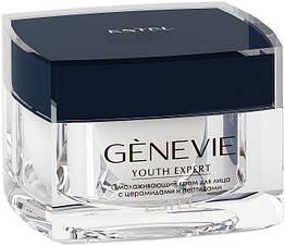 Омолоджуючий крем для обличчя з церамідами і пептидами ESTEL Genevie Youth Expert 50 мл
