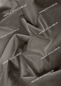 Тканина для штор Однотонний оксамит блекаут кави з молоком Т-11208