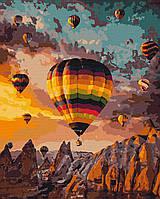 """Картина по номерах """"Повітряні кулі Каппадокії"""" (AC10503)"""