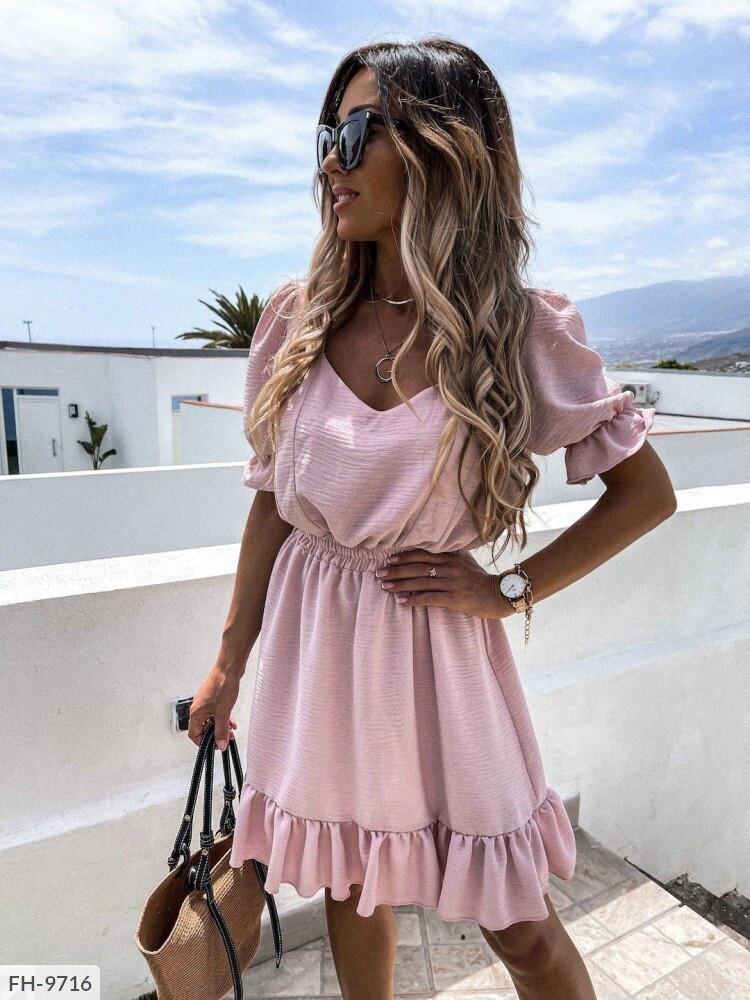 Жіноча сукня з гумкою на поясі