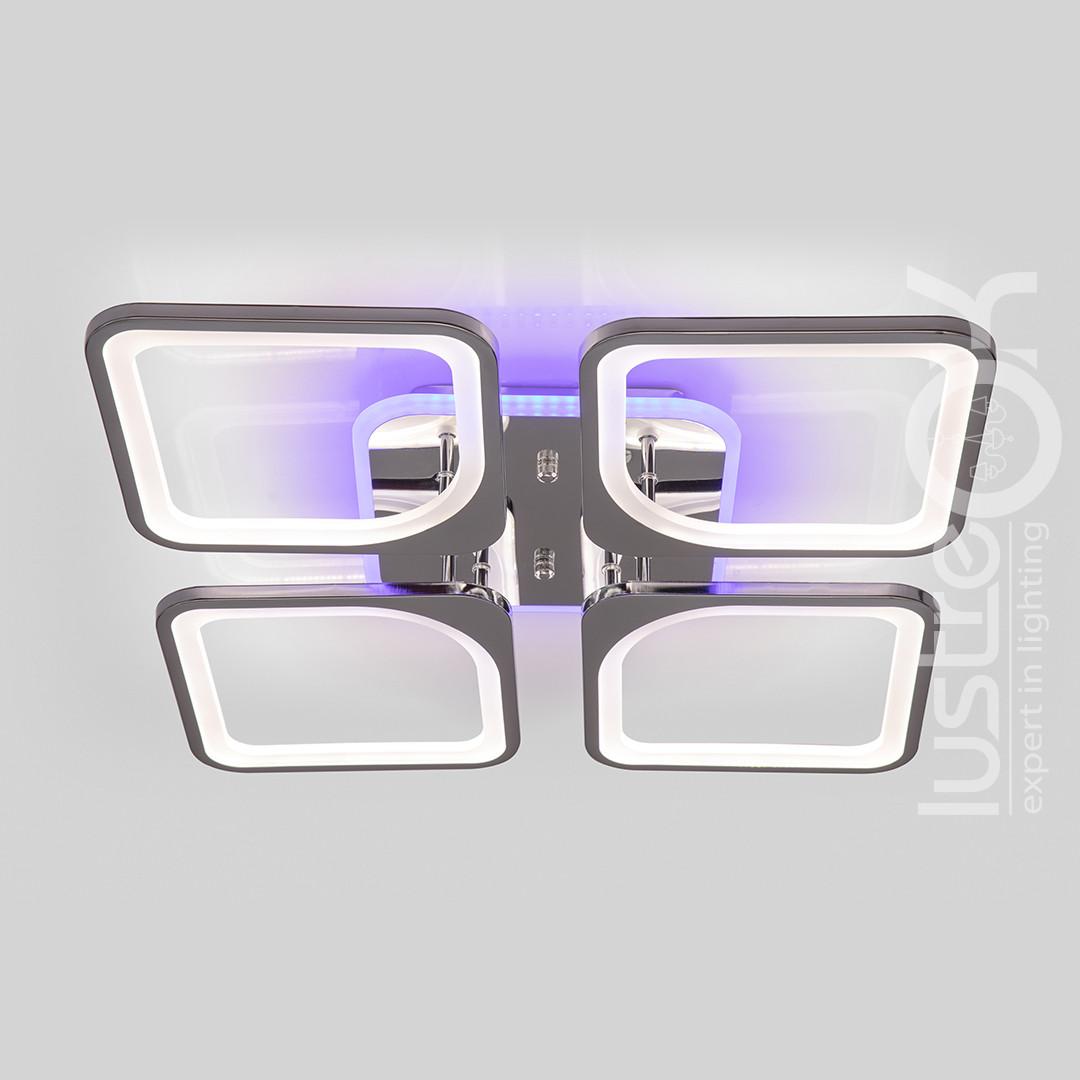 Люстра светодиодная с пультом VK39047-4 TL CR Люстра светодиодная потолочная