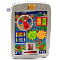 Детская музыкальная развивающая игрушка «Бизи-планшет» Бизиборд 24 мелодии (KI-7049), фото 3