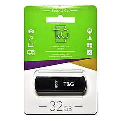 Флеш-накопитель USB 32GB TG 011 Classic Series Black TG011-32GBBK, КОД: 1901222