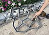 Форма для заливки дорожек Фомы для дорожки Пластиковые трафареты для тротуарной дороги