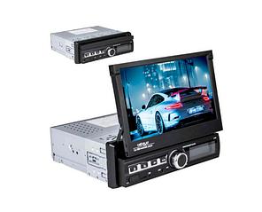 Автомагнітола 1DIN CML-PLAY 7110S з висувним сенсорним екраном 7 дюймів, BT, AUX, USB (7110S)