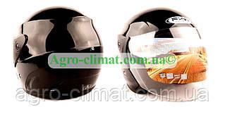 Шолом для мотоцикла FXW 200 Пілот чорний глянець