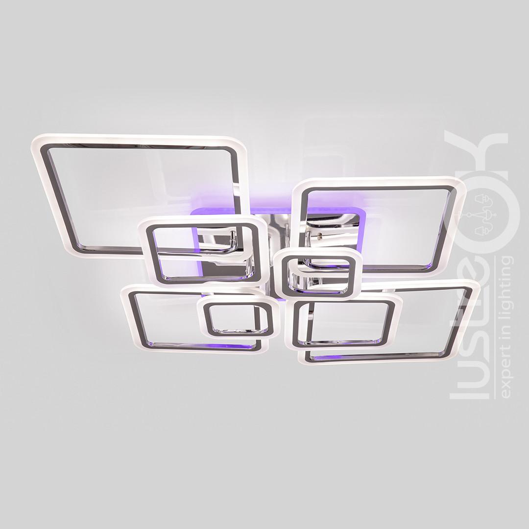 Люстра светодиодная с пультом Люстра Led 1140/8 HR Led