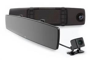 Відеореєстратор Xiaomi Yi Mirror Dash Camera International Edition з камерою заднього виду