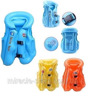 Жилет детский надувной BT-IG-0007 цвета в ассортименте, фото 2