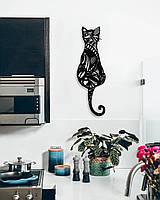 Объемная картина из дерева DecArt Cat pattern