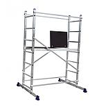 Вишка-тура будівельна алюмінієва робоча висота 3.0 (м), фото 6