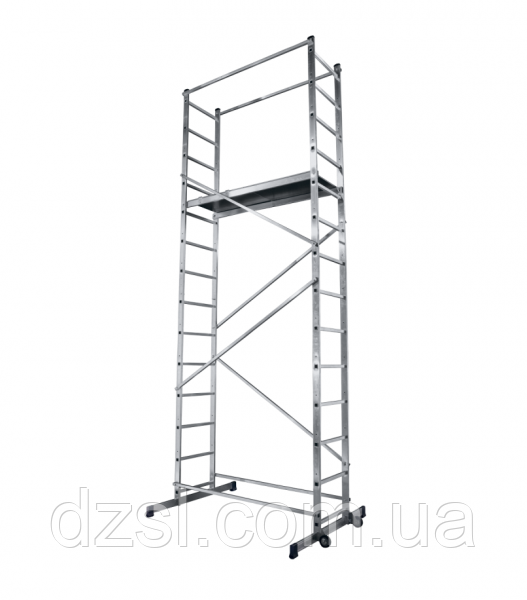 Вишка-тура будівельна алюмінієва робоча висота 5.0 (м)