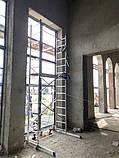 Вишка-тура будівельна алюмінієва робоча висота 5.0 (м), фото 4