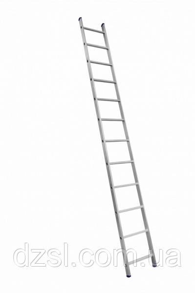 Приставна драбина алюмінієва на 12 ступенів