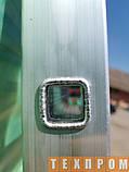 Приставна драбина алюмінієва на 12 ступенів, фото 7
