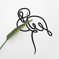 Объемная картина из дерева DecArt Flamingo