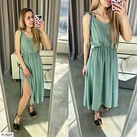 Красивое летнее платье на завязках