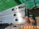 Драбина алюмінієва трисекційна універсальна 3 х 8 ступенів, фото 8