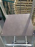 Стрем'янка з поручнями професійна на 6 ступенів алюмінієва, фото 7