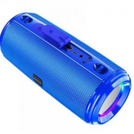 Портативная Bluetooth колонка Borofone BR13 синяя, фото 2