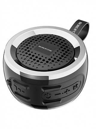 Портативная Bluetooth колонка Borofone BR2 синяя, фото 2