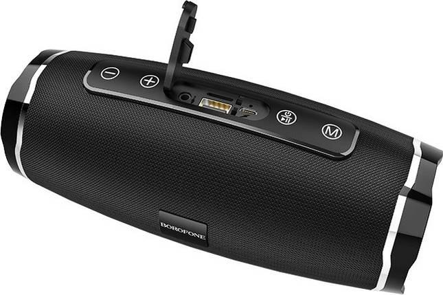 Портативная Bluetooth колонка Borofone BR3 синяя, фото 2