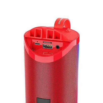Портативная Bluetooth колонка Borofone BR5 красная, фото 2