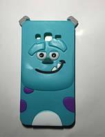 Объемный 3D силиконовый чехол для Samsung Galaxy Core i8260 i8262 Салливан Корпорация Монстров
