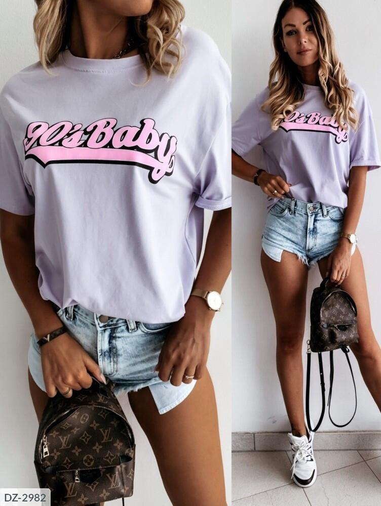 "Женская футболка ""90'Baby"""
