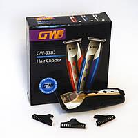 Машинка для стрижки волос и бороды GW-9783.Аккумуляторный триммер
