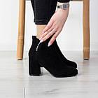 Ботильйони жіночі Fashion Callie 2514 36 розмір, 23,5 см Чорний, фото 4
