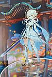 Акриловий стенд Genshin Impact - Lumine Люмін (мандрівниця), 15 см, фото 2