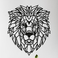 Объемная картина из дерева DecArt Царь лев