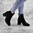 Ботильйони жіночі Fashion Hoagie 2286 36 розмір, 23,5 см Чорний, фото 3