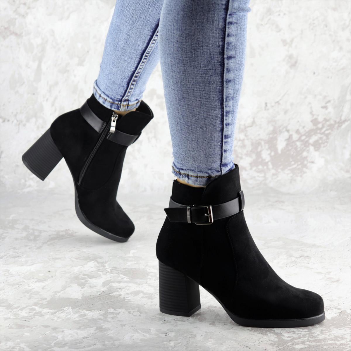 Ботильйони жіночі Fashion Kramer 2308 36 розмір, 23,5 см Чорний 39