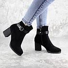Ботильйони жіночі Fashion Kramer 2308 36 розмір, 23,5 см Чорний 39, фото 3
