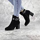 Ботильйони жіночі Fashion Kramer 2308 36 розмір, 23,5 см Чорний 39, фото 4