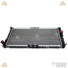 Радіатор охолодження Ланос (під кондиціонер) / Daewoo Lanos AC | (AURORA) Польща