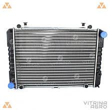 Радиатор охлаждения 3302, 2705, 2217 ГАЗель (3-х рядный) | (ДМЗ) Россия