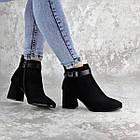 Ботильйони жіночі Fashion Macy 2321 36 розмір, 23,5 см Чорний 37, фото 2