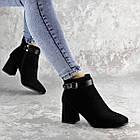 Ботильйони жіночі Fashion Macy 2321 36 розмір, 23,5 см Чорний 37, фото 3