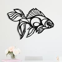 Объемная картина из дерева DecArt Goldfish